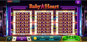 Ruby Heart Bar