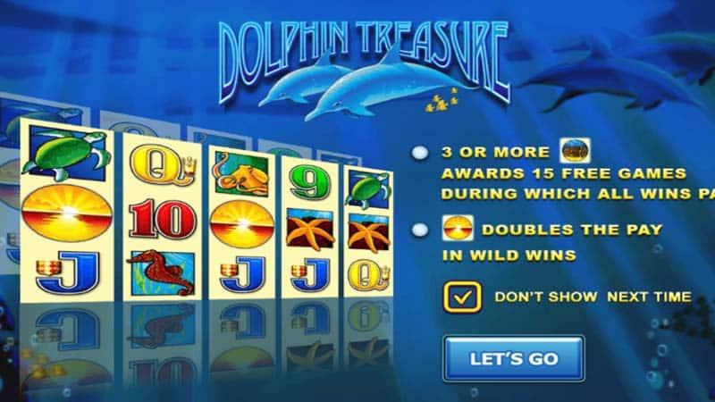 รีวิวเกม dolphin reef slot