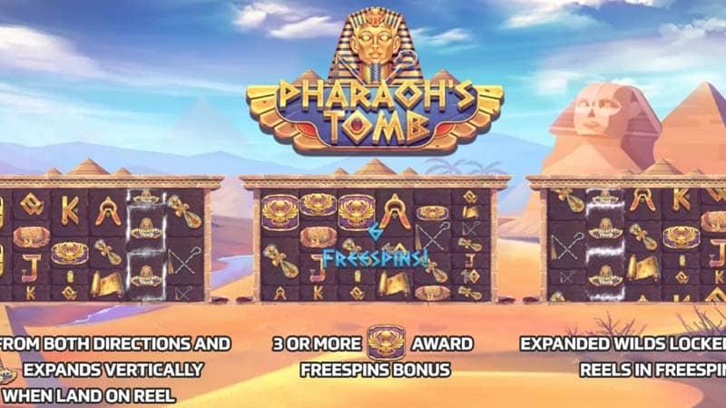 รีวิว Pharoah's Tomb